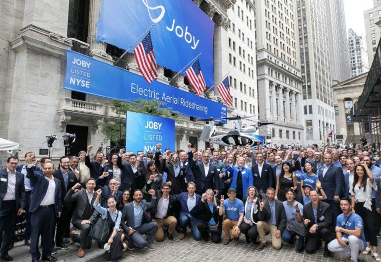 Joby présente son taxi aérien électrique à New York